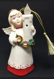 Lenox Porcelain Christmas Angel Blow Out Lights